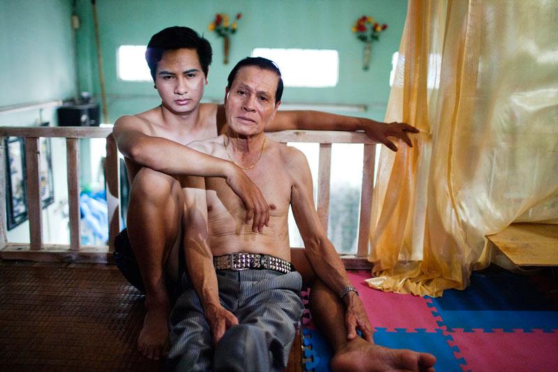 A photograph from 'The Pink Choice' by Vietnamese artist Maika Elan (Maika Elan/MoST Artists)