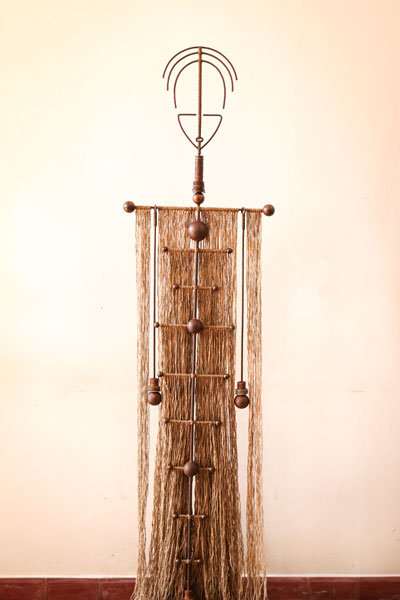 A sculpture from 'Manu' (Alicia Guthert/The Plantation)