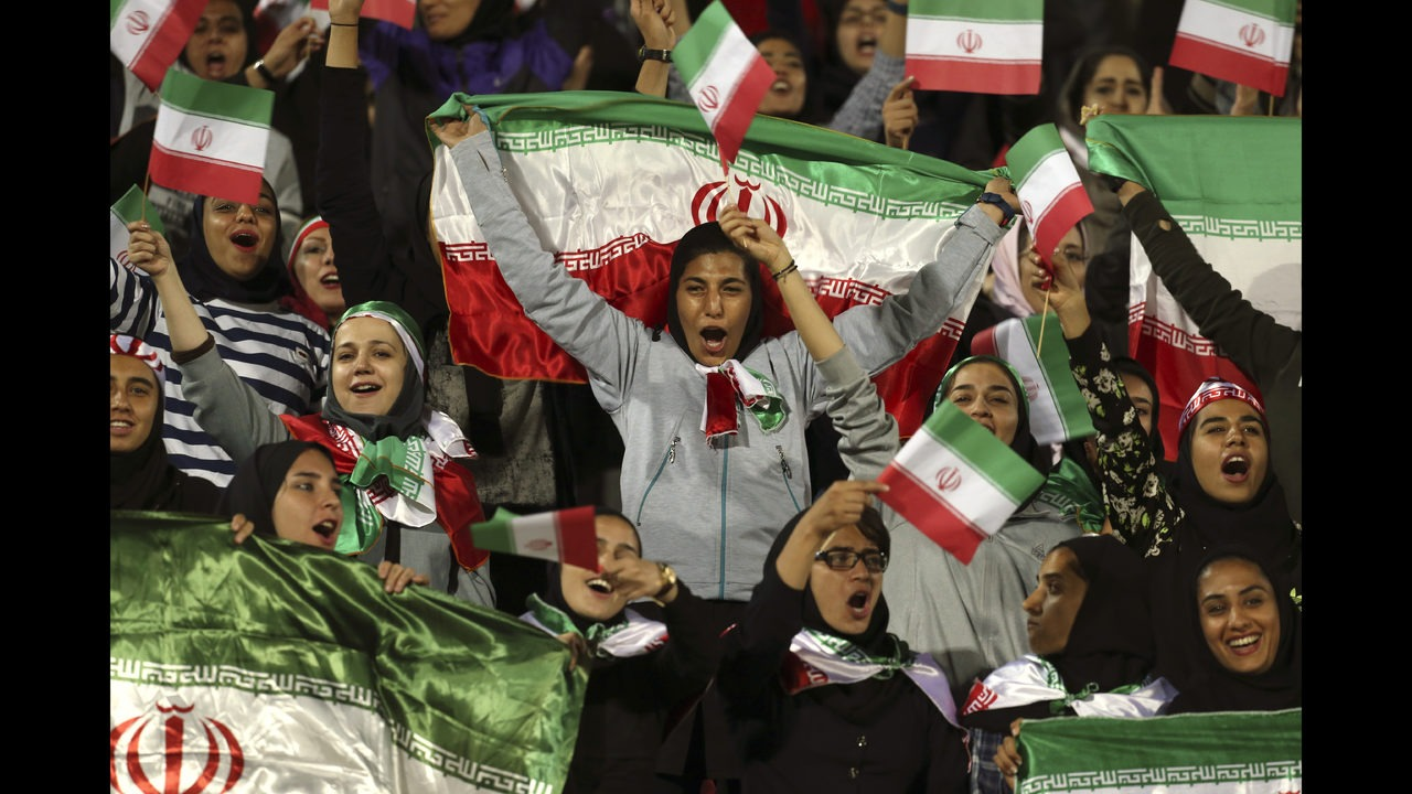 Image result for 2022 WORLD CUP QUALIFIER FIFA GETS ASSURANCE IRANIAN WOMEN WILL BE ALLOWED TO WATCH